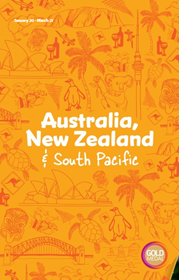 Gold Medal Australia, New Zealand and South Pacific brochure